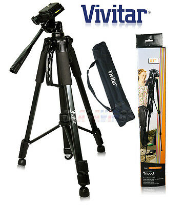 "57"" VIVITAR TRIPOD   FOR CAMERAS and CAMCORDERS"