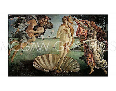 Botticelli Sandro - The Birth Of Venus - Art Print Poster (461)