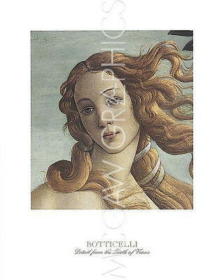 BOTTICELLI SANDRO - THE BIRTH OF VENUS (detail)               (1017)