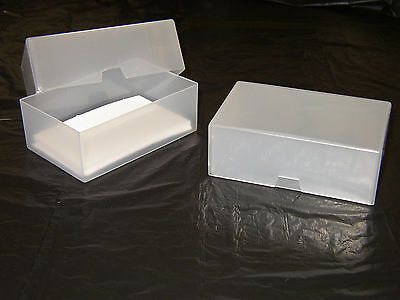Business Card Boxes Plastic Craft Box Holder Storage Box