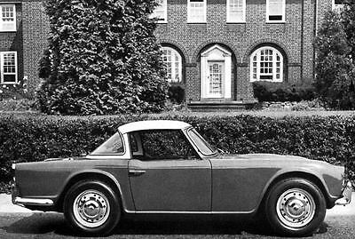 1964 Triumph Michelotti TR4 Factory Photo J3316