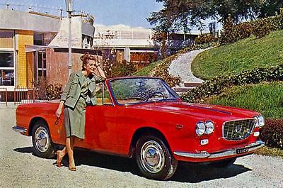 1964 Lancia Flavia Vignale Convertible Factory Photo J3351
