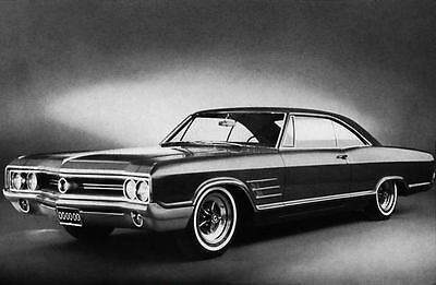 1965 Buick Wildcat Coupe Factory Photo J3422