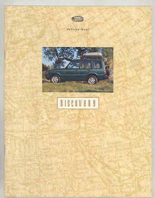 1994 Land Rover Discovery Accessories Brochure wt7064
