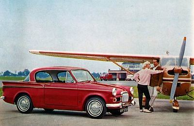 1965 Sunbeam Rapier Saloon Factory Photo J3705