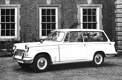 1965 Triumph Michelotti Herald 1200 Wagon Factory Photo J3713
