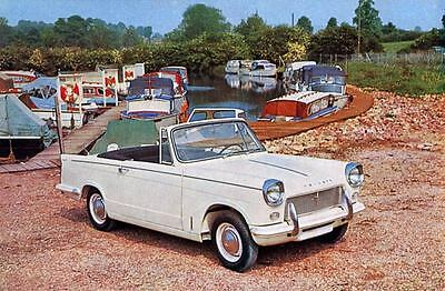 1965 Triumph Michelotti Herald 1200 Factory Photo J3714