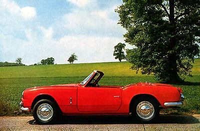 1965 Triumph Michelotti Spitfire Factory Photo J3719