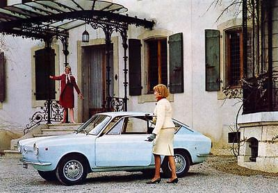 1966 Fiat 850 Coupe Factory Photo J3802