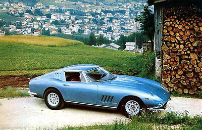 1966 Ferrari Pininfarina 275 Berlinetta Factory Photo J3860