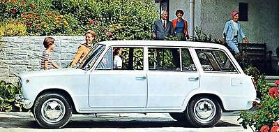 1968 Fiat 124 Familiare Factory Photo J4095
