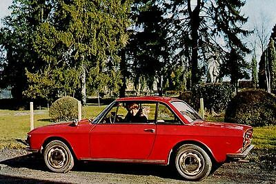 1968 Lancia Fulvia Coupe Factory Photo J4122