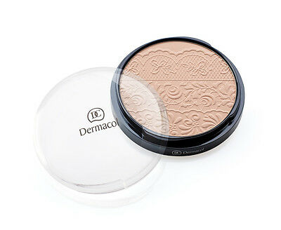 Dermacol Compact Pressed Powder With Lace Relief Vitamin E