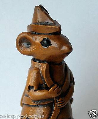 Church Mouse Ornament Robin Hood Unique English Collectable Mice Ornament Gift