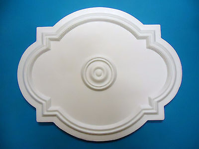 Ceiling Rose - Polystyrene - 'Renaissance' - Size 530mm x 435mm Approx