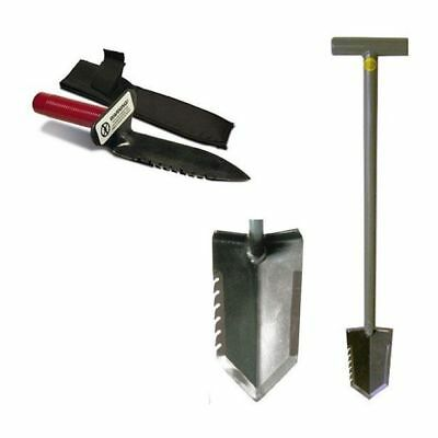 Lesche Shovel Combo, Sampson T-Handle Shovel and Right Serrated Digging Tool