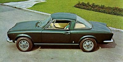 1968 Fiat Pininfarina 124 Sport Coupe Factory Photo J4154