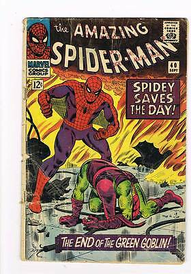 Amazing Spider-Man # 40  Death of the Goblin grade 2.0 movie scarce hot book !!