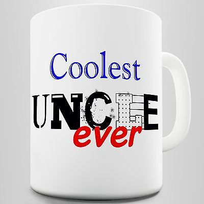 Coolest Uncle Ever Novelty Coffee Mug