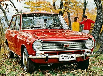 1969 Datsun 1000 Factory Photo J4320