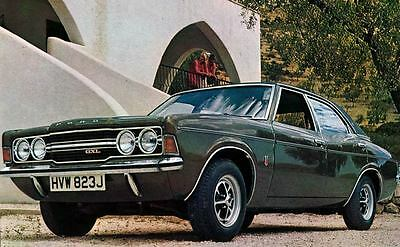 1971 Ford England Cortina GXL Factory Photo J4363