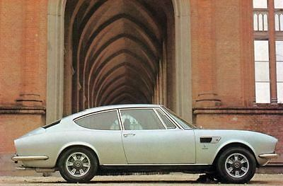 1971 Fiat Dino Coupe 2400 Factory Photo J4407