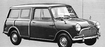 1966 Austin Mini 850 Countryman Factory Photo J4540