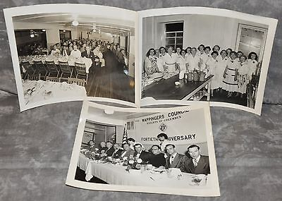 Knights of Columbus Wappingers Falls, NY Council Ladies 8x10 Photograph 1952