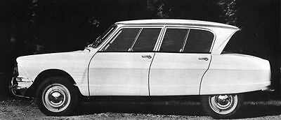 1966 Citroen Ami 6 Berline Confort Factory Photo J4629