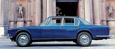 1966 Maserati Quattroporte Door Factory Photo J4779