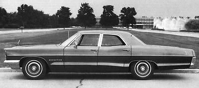 1966 Pontiac Star Chief Executive Sedan Factory Photo J4909