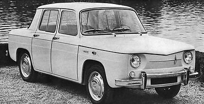 1966 Renault 8 Factory Photo J4941