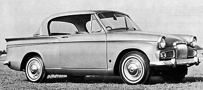 1966 Sunbeam Rapier Series V Factory Photo J4990