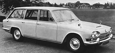 1966 Triumph 2000 Estate Car Factory Photo J5020
