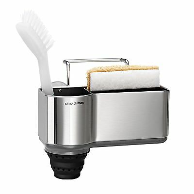 Simplehuman, Standard Brushed Stainless Steel Sink Caddy, KT1116