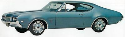 1968 Oldsmobile F85 Cutlass S Holiday Factory Photo J5171