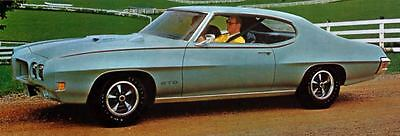 1970 Pontiac GTO Hardtop Coupe Factory Photo J5248