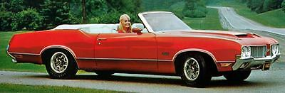 1970 Oldsmobile 442 Convertible Factory Photo J5257