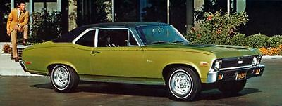 1971 Chevrolet Nova SS Coupe Factory Photo J5286