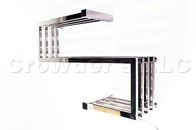 Kontour K3013E Gradient Towel Warmer Polished Stainless Steel