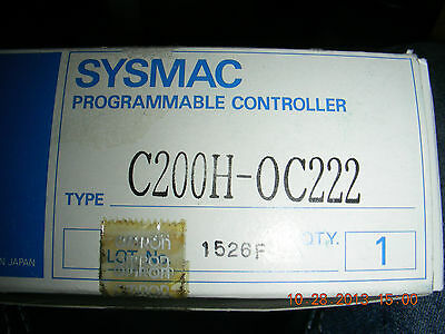 OMRON Programmable Controller  UNIT     C200H-0C222