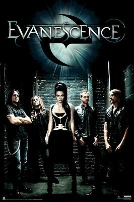 EVANESCENCE POSTER ~  ALLEY GROUP 24x36 Music Amy Lee