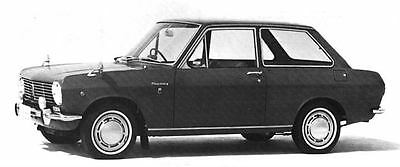 1967 Datsun 1000 Sedan Factory Photo J5740