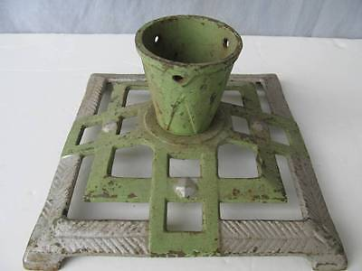 Vintage Art Deco cast iron Stand Xmas tree stand made in Germany