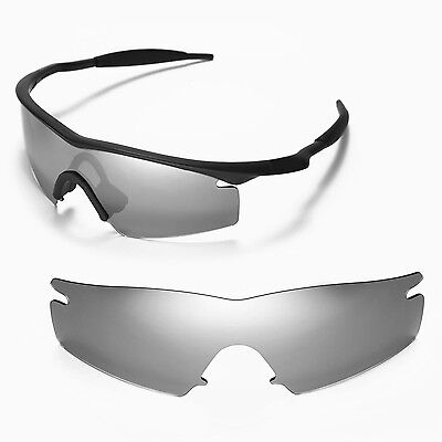 New Walleva Polarized Titanium Replacement Lenses For Oakley M Frame Strike