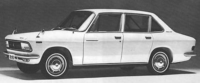 1968 Isuzu Florian Factory Photo J6120
