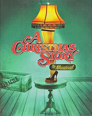 A Christmas Story Broadway Souvenir Program 2012  - John Bolton