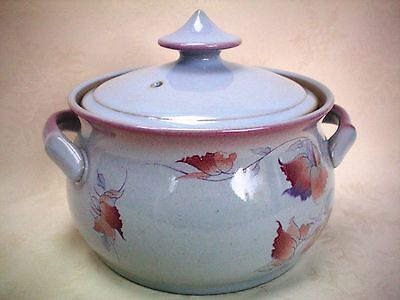 Denby Twilight 2 Pint Covered Casserole Vegetable Serving Dish Excellent Cond