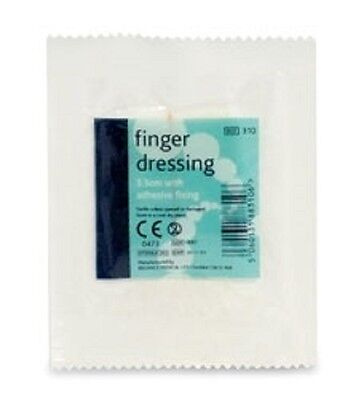 Reliance 310 Sterile Finger Wound Dressing With Adhesive Fixing Small 3.5Cm
