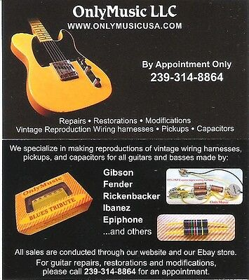 ONLYMUSIC CUSTOM SHOP AFFORDABLE GUITAR AND BASS REPAIRS, RESTORATIONS, PARTS.